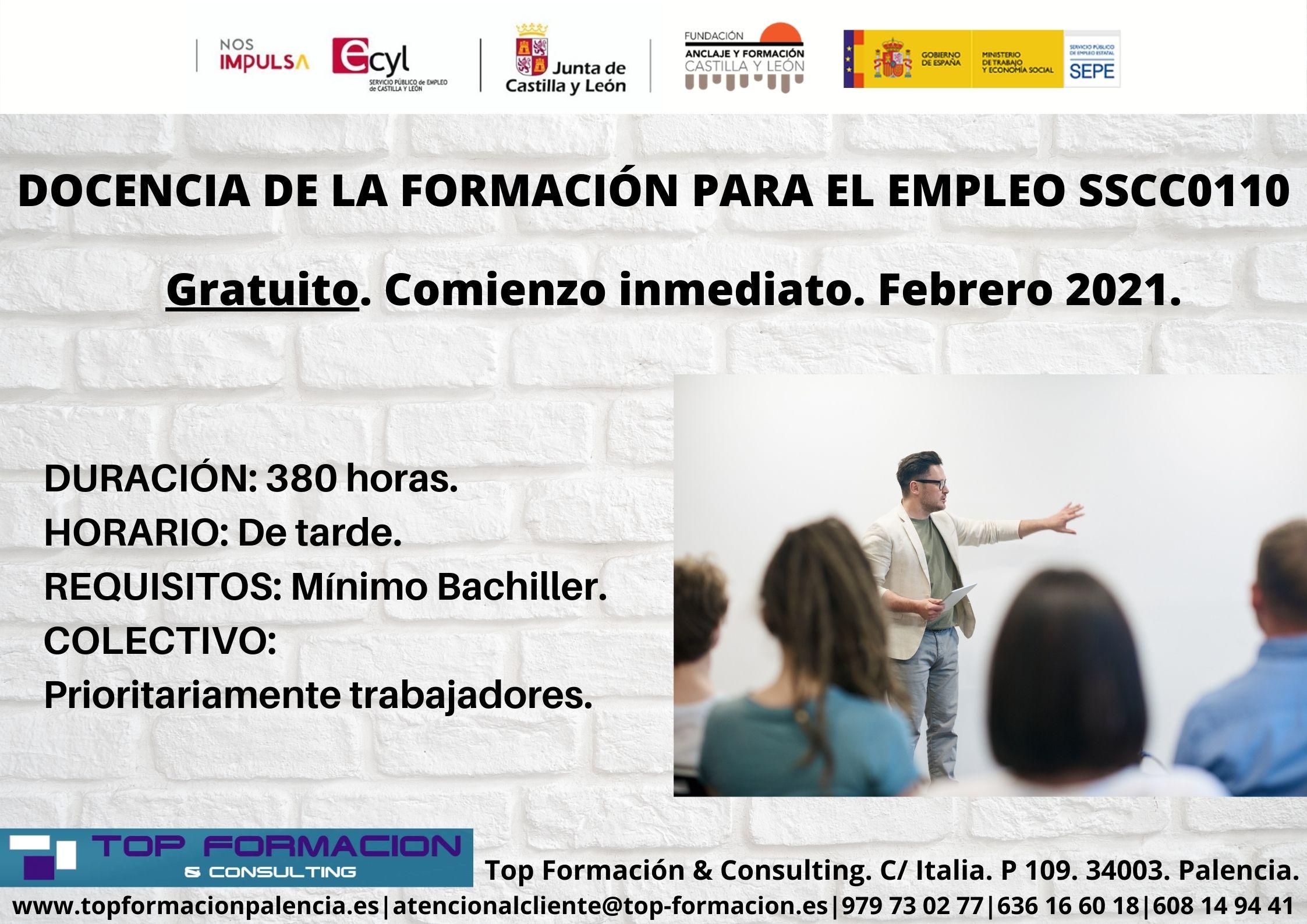 Top Formacion Consulting Cursos De Formacion Gratis En Palencia